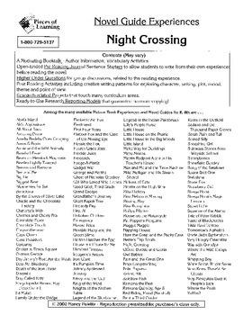 Night Crossing Literature Guide