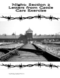 """Night Elie Wiesel """"Letters from the Cattle Car"""" Victim Letters"""