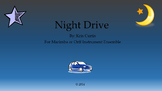 Night Drive/Orff/Marimbas/Elementary Music