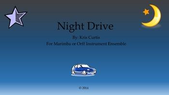 Night Drive/Orff/Marimbas/Elementary Music