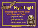Night Flight: Owls and Bats