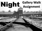 Night Gallery Walk: Writing and Image Analysis for Wiesel'