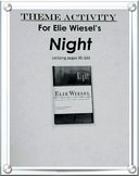 Elie Wiesel's Night Common Core Lesson: Matching Theme wit