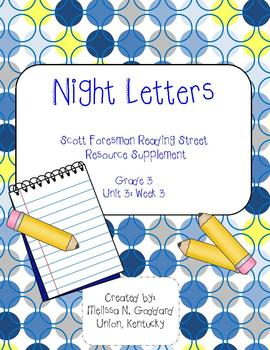 Night Letters : Reading Street : Grade 3