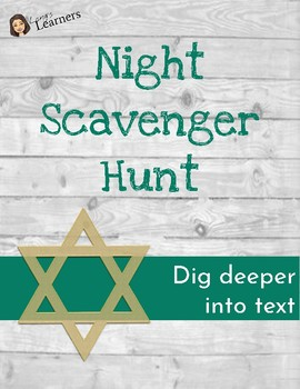 Night Novel Scavenger Hunt