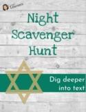 Night Novel Scavenger Hunt