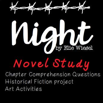 Night by Elie Wiesel Novel Study Unit