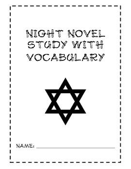 Night Novel Study and Vocabulary