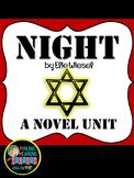 Night - Novel Unit, Elie Wiesel, Secondary, Close Read