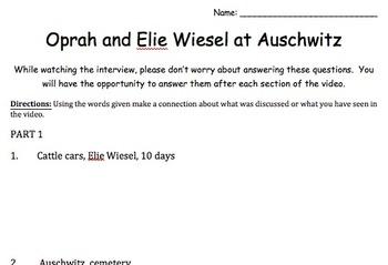 Night: Oprah Interview with Elie Wiesel