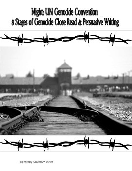 Night Elie Wiesel Persuasive Writing Task UN Gencocide Convention