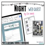 Night QR Code Web Quest