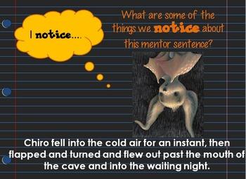 Night Song Interactive Mentor Sentence Teaching PowerPoint