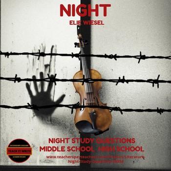Literature - Night Study Questions