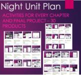 Night by Elie Wiesel- Unit Plan Bundle