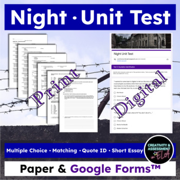 Night Unit Test - MC, Quote ID, Matching, Essay