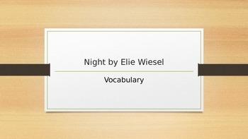 Night Vocabulary