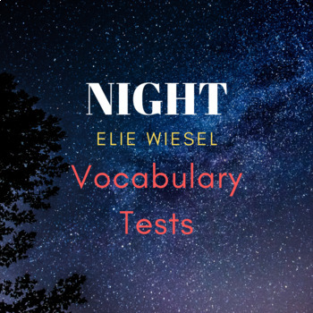 Night Vocabulary Tests