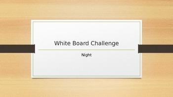Night Whiteboard Challenge