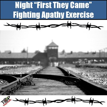 """Night Elie Wiesel: Close Read Comparing Niemoller """"First They Came"""" and Night"""