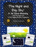 Night and Day Sky Close Reading K-1 w/ Text Passages/Graphic Organizers