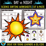 Night and Day Sorts | Cut and Paste Worksheets