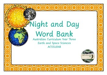 Night and Day Word Bank
