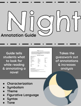 Night annotation guide