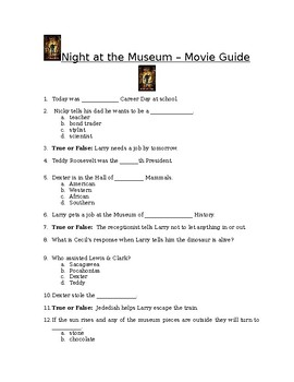 Night at the Museum - Movie Guide