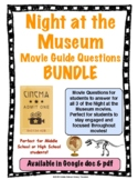 Night at the Museum Movie Series Bundle Movie Guide Questions