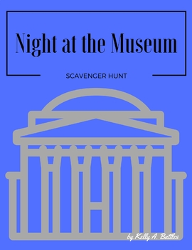 Night at the Museum Scavenger Hunt (DC)
