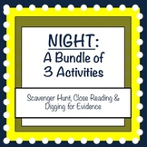 Night by Elie Wiesel: 3 Close Reading Activities