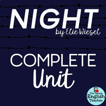 Night by Elie Wiesel Activities Bundle