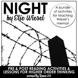 Night by Elie Wiesel: Bundle of Activities