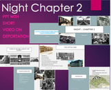 Night by Elie Wiesel Chapter 2 PPT Summary with Video Clip