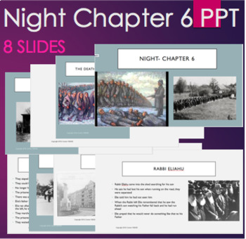 Night by Elie Wiesel - Chapter 4 PPT with Video on Nazi's and Gold