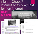 Night by Elie Wiesel - Chapter 7 Internet Activity on Deat