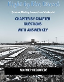Night by Elie Wiesel Chapter by Chapter Questions with Answer Key
