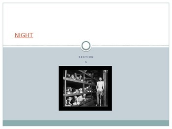 Night by Elie Wiesel Section Five PPT