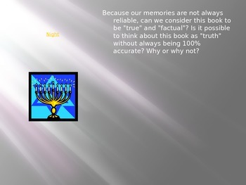 Night by Elie Wiesel Section Two PPT