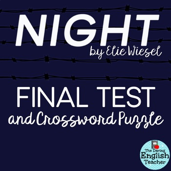 night by elie wiesel assessment of The following is an assessment of reading comprehension and retention of classroom notes and discussion of the autobiographical novel night by elie wiesel.
