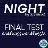 Night by Elie Wiesel Test and Crossword Study Guide