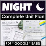 Night by Elie Wiesel Unit Plan With Google Links for Dista