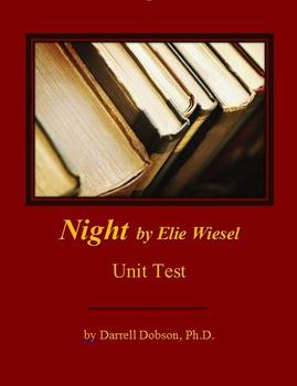 Night by Elie Wiesel Unit Test