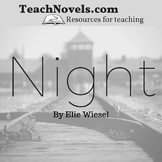 Night by Elie Wiesel unit and teacher guide