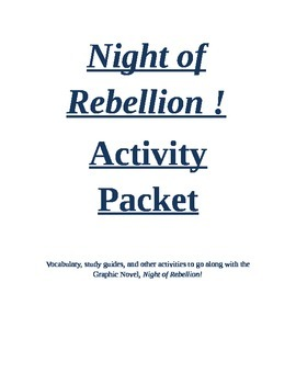 Night of Rebellion Read Along Unit.