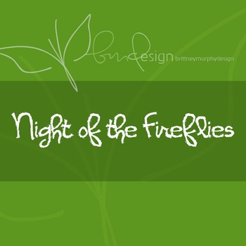 Night of the Fireflies Font for Commercial Use