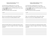 Night of the Full Moon Comprehension Questions and Theme W