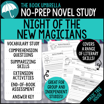 Night of the New Magicians - Magic Tree House