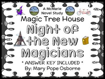 Night of the New Magicians : Magic Tree House #35 Novel Study / Comprehension